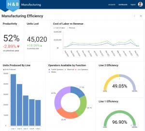 manufacturing embedded analytics