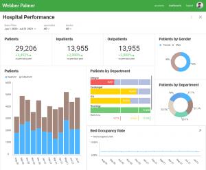 healthcare embedded analytics